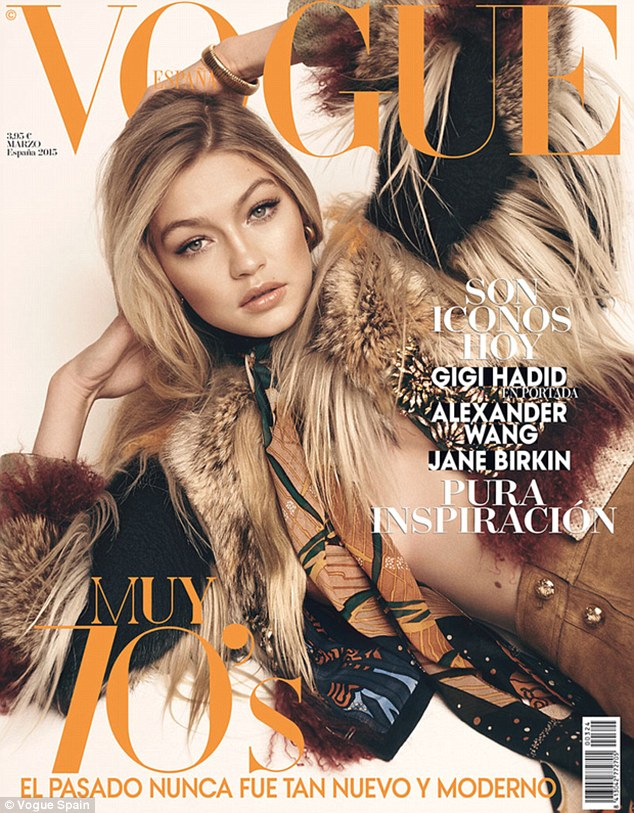 Vogue Spain x Gigi Hadid