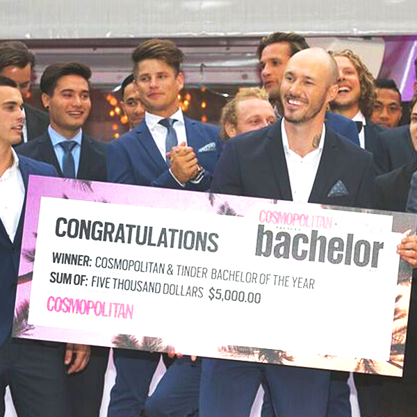 Cosmopolitan and Tinder Bachelor of the Year Launch